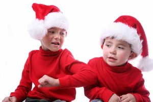 Cut out the pushing and shoving on Christmas day. Photo / Thinkstock