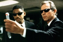 Will Smith and Tommy Lee Jones star in the new Men In Black film. Photo / Supplied