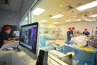 Students working in Auckland University's upgraded Simulation Centre are able to 'debrief' using theatre footage and patient monitor playback. Picture / Ted Baghurst