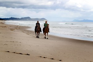 Locals are up in arms at the threat to Te Arai beach from developers. Photo / Herald on Sunday