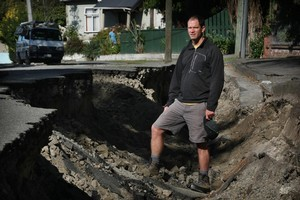 Geologist Mark Quigley woked hard to reassure and educate the public after the Canterbury earthquakes. Photo / Greg Bowker