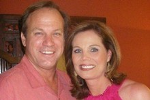 Bill Johnson with his wife Kathy.