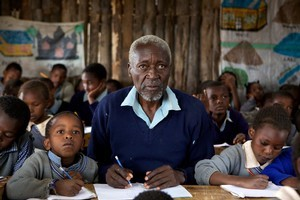 Oliver Litondo in The First Grader. Photo / Supplied