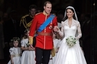 Britain's Prince William and his wife Kate, Duchess of Cambridge topped rising Google searches in 2011.