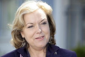 Judith Collins takes the Justice portfolio from retiring minister Simon Power. Photo / APN