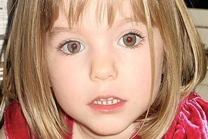 Missing British toddler Madeleine McCann. Photo / supplied