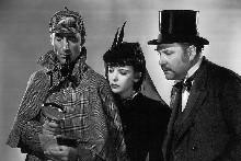 Basil Rathbone as Sherlock Holmes. Photo / Supplied