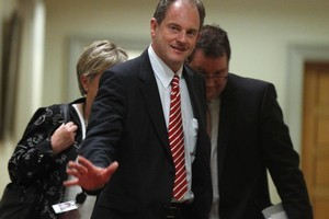 New Labour Party leader David Shearer  has a big job ahead of him. Photo / Mark Mitchell