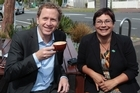 Green Party co-leaders Russel Norman and Metiria Turei. Photo / Brett Phibbs