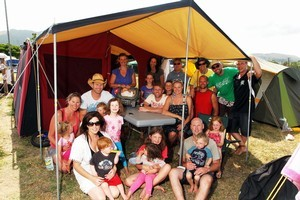 Spending time with family/friends and camping are two bucket list dreams Kiwis surveyed by Fidelity Life have noted they would like to carry out. Photo / Paul Taylor