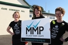 Campaigners for MMP in Hawke's Bay. Photo / APN