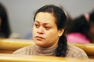 Maine Ngati was jailed for the manslaughter death of her three-year-old son in 2007. File photo