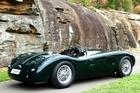 Jaguar C-type replica. Photo / Supplied
