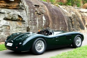 Jaguar C-type replica. Photo / Supplied