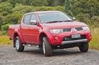 Mitsubishi Triton GLS. Photo / Supplied