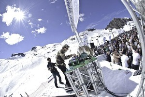 Snowbombing in Mayrhofen, Austria. Photo / Supplied