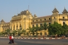 The colonial-era City Hall building in Yangon, Myanmar. Photo / Brett Atkinson 