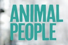 Book cover of Animal People. Photo / Supplied