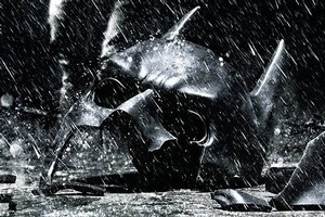 The new poster for The Dark Knight Rises. Photo / Supplied