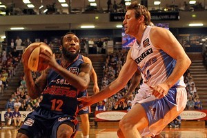 Chris Warren of the 36ers runs with the ball. Photo / Getty Images