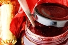Cranberry redcurrant sauce. Photo / Babiche Martens