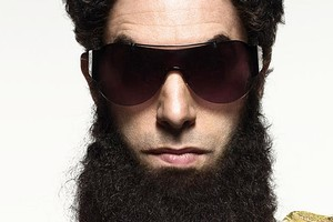 Sacha Baron Cohen is The Dictator. Photo / Supplied
