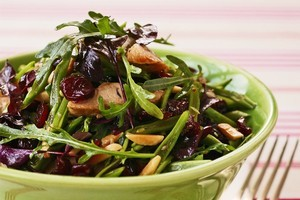Salads can ring the changes for Christmas meals. Photo / Carolyn Robertson