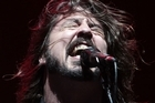 Dave Grohl rocks Western Springs. Photo / Richard Robinson
