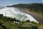 Piha on Auckland's west coast was a favourite spot for some of the nzherald.co.nz team. Photo / Brett Phibbs