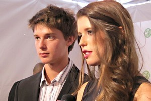 Patrick Schwarzenegger and his sister Katherine. Photo / Flickr