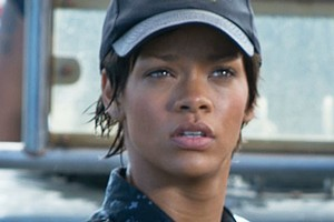 Rihanna makes her big screen debut in Battleship. Photo / Supplied