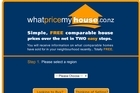 The whatpricemyhouse website. Photo / Supplied