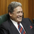 NZ First leader Winston Peters in his seat after being sworn-in as an MP in Parliament, Wellington. Photo /Mark Mitchell