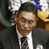 Hone Harawira after being sworn-in as an MP, Parliament. Photo / Mark Mitchell