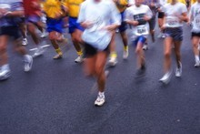 Most runners set the goal of running a marathon.