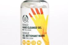 The Body Shop Hand Cleanse Gel. Photo / Babiche Martens