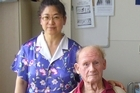 Jufan Zhang says she can care for John Pinder in their home. Photo / Supplied