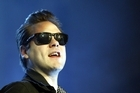 Kasabian frontman Tom Meighan. Photo / AP