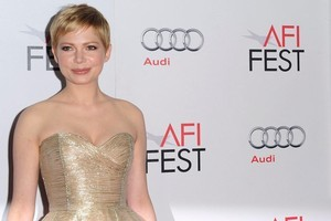 Michelle Williams' worst fears look set to come true with a film about Heath Ledger's last days in the works. Photo / AP