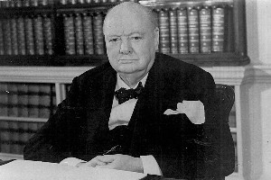 Winston Churchill had a keen sense of history and knew a thing or two about inspiring a nation in difficult times. Picture / Supplied