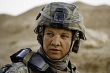 Jeremy Renner as Sergeant First Class William James in The Hurt Locker was 'a bit of a cowboy'. Photo / Supplied