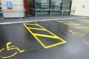 Mobility parking. Photo / Supplied