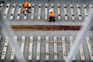 Construction work will disrupt train services. Photo / Greg Bowker
