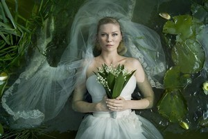 'Melancholia,' starring Kirsten Dunst, opens in New Zealand this week. Photo / Supplied
