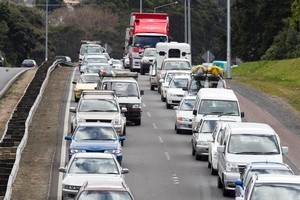 As many as 1.7 million New Zealanders are expected to be on the roads these holidays. Photo / Natalie Slade