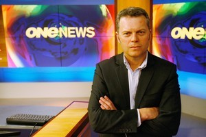 Former head of News and Current Affairs at Television New Zealand Anthony Flannery. Photo / Greg Bowker