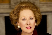 Meryl Streep as Margaret Thatcher in the film The Iron Lady. Picture / Supplied for Timeout