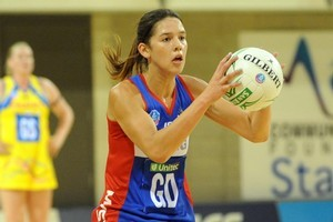 Kayla Cullen played every game for the Mystics on their march to the ANZ Championship final. Photo / NZPA