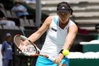 Former Kiwi No. 1 Leanne Baker is still able to beat up and coming tennis stars in straight sets. Photo / NZPA