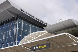 Auckland Airport's international passenger volumes are up 5 per cent on last year. Photo / NZPA